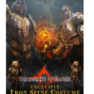 Guardians of Ember - Iron Spine Costume DLC