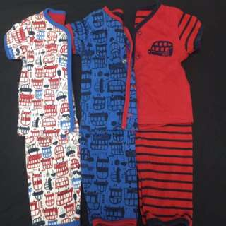 Mothercare sleep suits