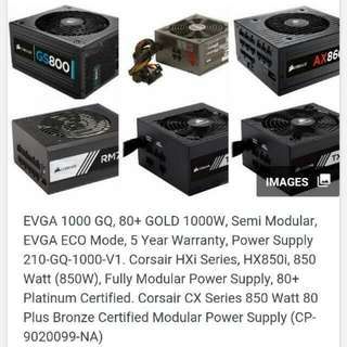 Want To Buy : All Psu Above 600w To 1600w And All Working Amd/nvidia Graphics Card