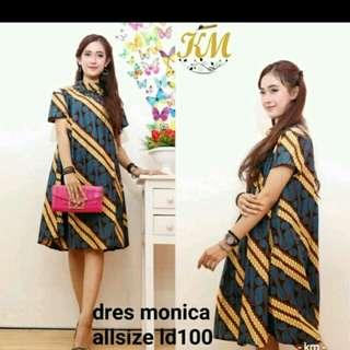 Dress Batik monica