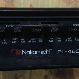 Nakamichi amplifier