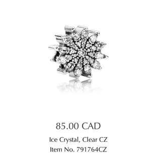 "Pandora ""Ice Crystal"" Charm"