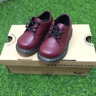 Dr. Martens Cloby Cherry Red