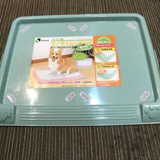 Direct from Japan Richell Litter Pan-Wide Toilet Pee Tray/ Dog Puppy Potty Toilet Training