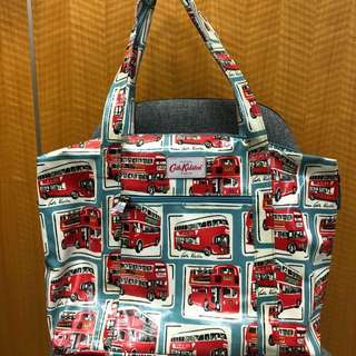 CathKidston F4 large zipper shoulder bag (英倫復古巴士)