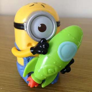 "Happy Meal McD Despicable Me 3 ""Rocket Racer Minion"""
