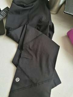REDUCED* Black lululemon leggings