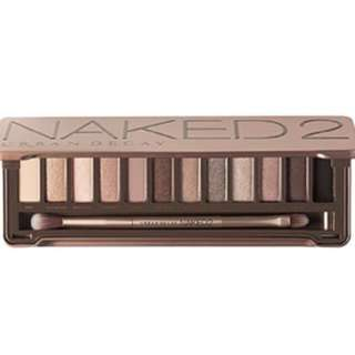 Naked 2 palette price drop