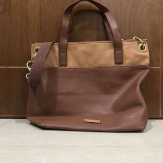BNWT Fossil Large Keely Brown