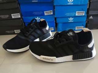 Adidas NMD R1 Black Ice- Black White
