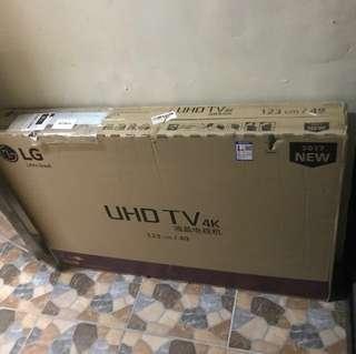 lg 49吋電視