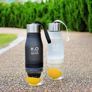 700ml Water Bottle Fruit Infusion Lemon Bottle Drink