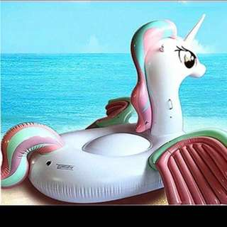 Pastel Pegasus float for rent