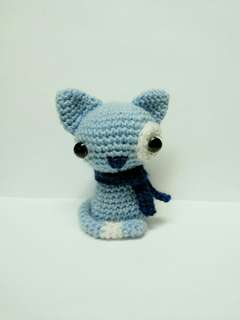 Handmade Crochet Cat Toy