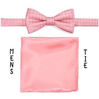 NWT Men's Croft&Barrow Bow Tie/Pocket Square set
