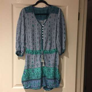 (12) Spell playsuit