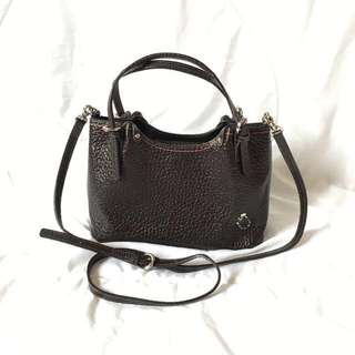 Pelle Borsa Leather Handbag / Top Handle / Crossbody