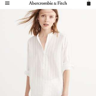 Abercrombie blouse size small