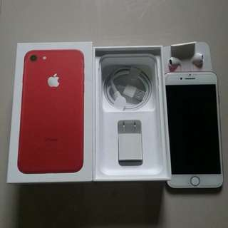 IPHONE 7 (Red Edition 128gb)