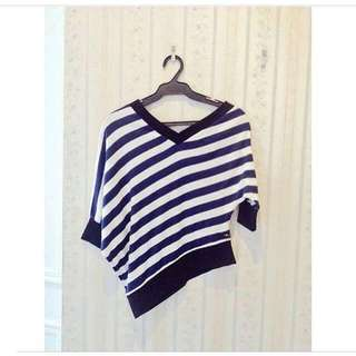 Milk & Co. One Sided Blue Top