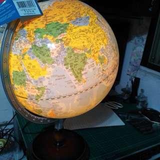 🚚 地球儀 有經緯度
