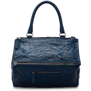 Givenchy medium pandora bag(blue)