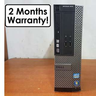 [Core I5 Gen3 CPU] Dell Optiplex 3010 SFF: Win 10 Pro! HDMI Port (Desktop)