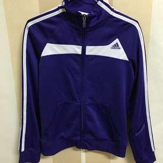 Adidas運動外套紫色舒適