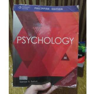 PSYCHOLOGY by Spencer A. Ratus - book