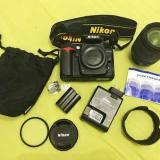 Nikon D7000 DSLR Complete with Accessories
