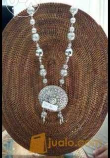 Kalung Etnik Silver Gong