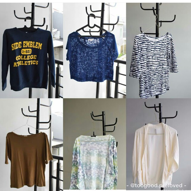 100rb get 3! Shirt Sweater Sweatshirt Sabrina Sale
