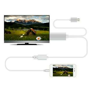 TV HDMI to mobile iPhone, iPad, SAMSUNG & others Android