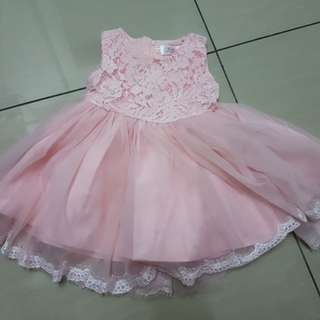 Pink Princess Dress (90cm)