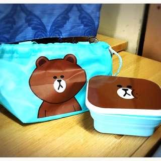熊大飯盒連袋