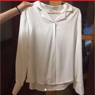 🚚 OL白襯衫