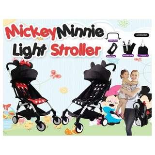 Mickey Minnie Light Stroller