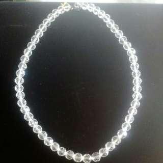 🚚 白水晶項鏈