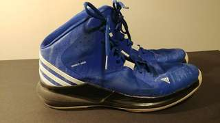 Adidas blue mens sneakers US 9