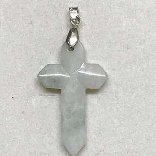 十字架玉吊咀(厚身)