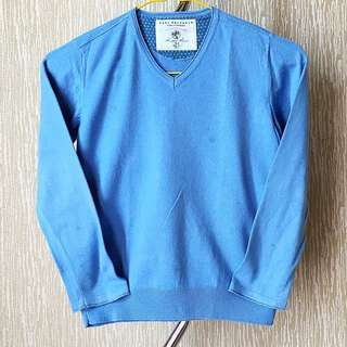Zara Knitwear Light Blue Sweater