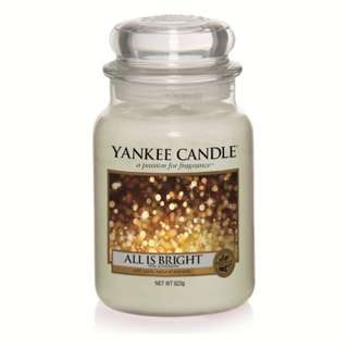 Yankee Candle Large Jar - All is Bright