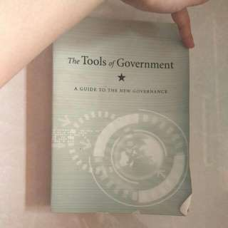 [Used] The Tools Of Government