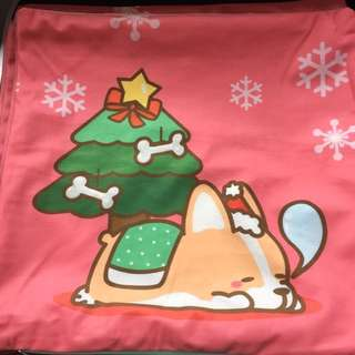 Corgi printed cushion cover (stock available)