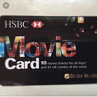 Golden Village HSBC Movie Card