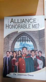 The alliance of honourable men by Jonathan david. #Contiki2018
