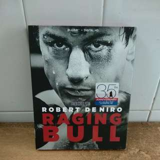Raging Bull - 35th Anniversary Edition - Blu Ray - US import (original) - This movie is in black and white