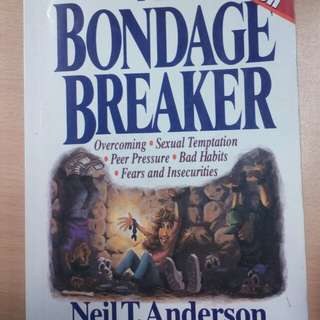 Book: bondage breaker for Christian youth #Contiki2018
