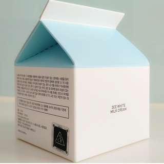 3CE WHITE MILK CREAM ( Authentic from Stylnanda Korea)