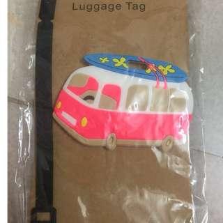 Bus Luggage Tag